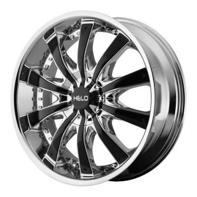 roue Helo Wheels HE875, chrome (22X9.5, 6x132/139.7, 78.3, déport 38)