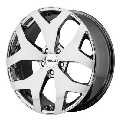 roue Helo Wheels HE881, chrome vaporise (18X8, 5x115, 72.6, déport 38)