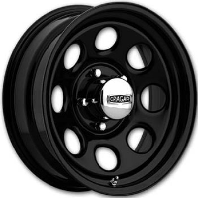 Keystone Soft 8 297 Series - 15x8 - 5-127 / Black