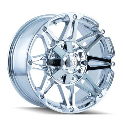 Mayhem 8010 Riot Chrome / Chrome, 20X9, 8x165.1/170 ,(déport/offset 18 ) 130.8