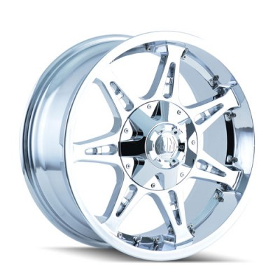 Roue Mayhem 8060 Missile, chrome (20X12, 6x135/139.7, 108, déport -44)
