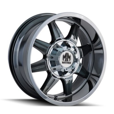 roue Mayhem MONSTIR, chrome (20X9, 6x120/139.7, 78.1, déport 0)