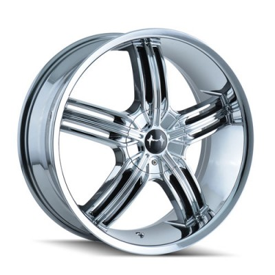 Mazzi 365 Galaxy Chrome / Chrome, 20X8.5, 5x112/120 ,(déport/offset 35 ) 72.62