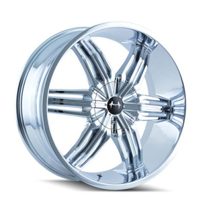 Mazzi 792 Rush Chrome / Chrome, 22X9.5, 5x114.3/120 ,(déport/offset 35 ) 74.1
