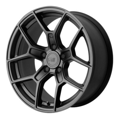 Roue Motegi MR133, noir satine (17X8.5, 5x114.3, 72.60, déport 35)