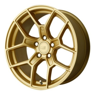 Roue Motegi MR133, or (17X8.5, 5x114.3, 72.60, déport 35)