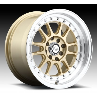 Roue NICHE Johnny Walker M092, or (15X8, 4x100/114.3, 72.6, déport 25)