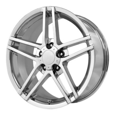 Roue OE Creations PR117, chrome (18X9.5, 5x120.65, 70.70, déport 50)