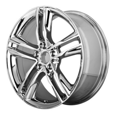 Roue OE Creations PR141, chrome (16X7.5, 5x112, 66.60, déport 35)