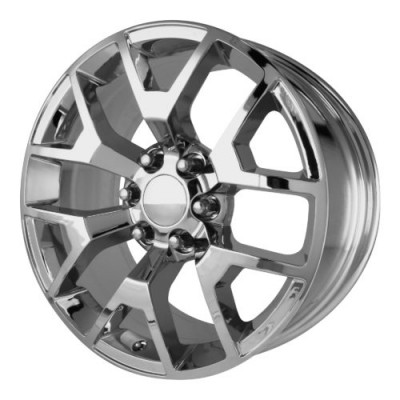 Roue OE Creations PR150, chrome (22X9, 6x139.7, 78.30, déport 27)