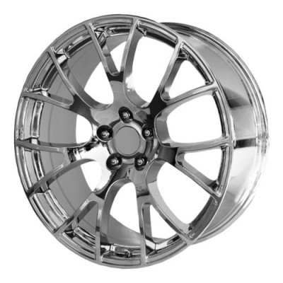 Roue OE Creations PR161, chrome (22X9, 5x115, 71.50, déport 18)