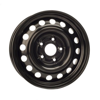 roue PMC Steel Wheel, noir (15X6, 5x114.3, 64.1, déport 42)