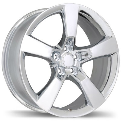 roue Replika R129B, chrome (20X8, 5x120, 67.1, déport 35)