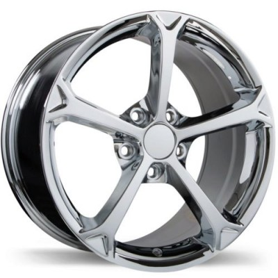 roue Replika R147, chrome (17X8.5, 5x120.65, 70.3, déport 49)