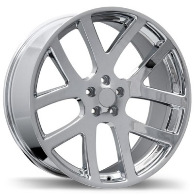 roue Replika R161A, chrome (20X9, 5x115, 71.5, déport 20)