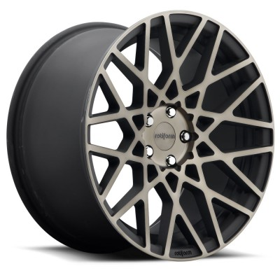 Roue Rotiform BLQ R111, noir machine (18X8.5, 5x120, 72.6, déport 45)