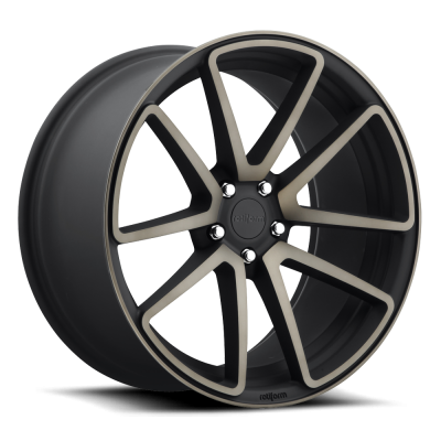 Roue Rotiform SPF R121, noir machine (18X8.5, 5x100, 57.1, déport 45)
