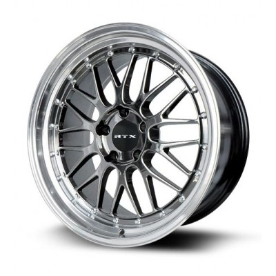Roue RTX Wheels Amaze II, chrome noir (18X8.5, 5x114.3, 73.1, déport 38)