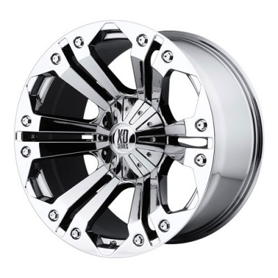 roue KMC Wheels Monster, chrome (18X9, 5x114.3/127, 72.6, déport 18)