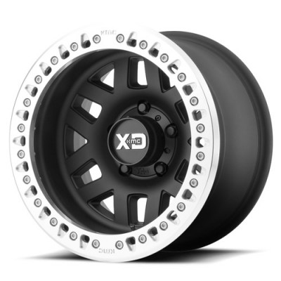 Roue XD Series By Kmc Wheels XD229 Machete Crawl, noir machine (17X9, 5x127, 78.3, déport 41.15)