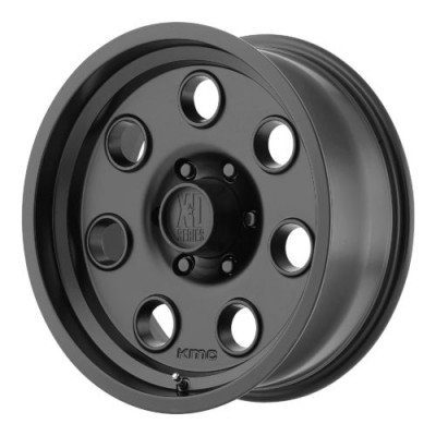 Roue XD Series by KMC Wheels XD300 PULLEY, noir satine (15X7, 5x114.3, 83.06, déport -6)