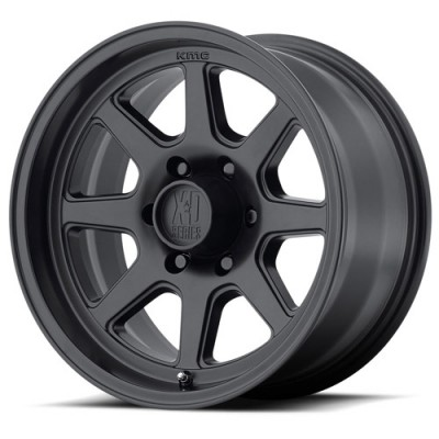 Roue XD Series By Kmc Wheels XD301 Turbine, noir satine (17X8.5, 5x127, 83.06, déport 28.35)