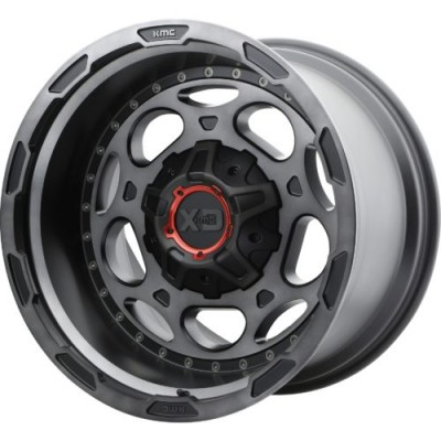 Roue XD Series by KMC Wheels XD837 DEMODOG, noir machine (20X10, , 78.30, déport -18)