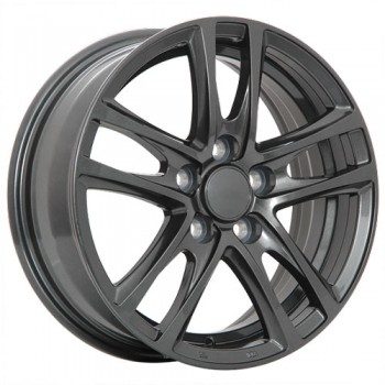 Dai Alloys OEM, Graphite/Graphite, 16X6.5, 5x100 (offset/deport 39), 54.1