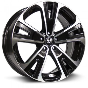 Enkei SVX, Noir Machine/Machine Black, 20X8.5, 5x114.3 ( offset/deport 40), 72.6