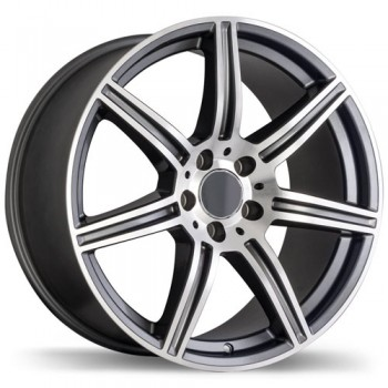 Replika R142 17X8  ,  5x112  , (offset/deport 45) , 66.4 , Mercedes