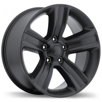 Replika R177 Satin Black/Noir satiné, 20X9.0, 5x139.7 , (offset/deport 18 )Ram