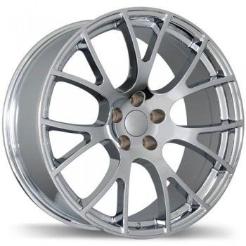 Replika R179 Chrome/Chrome, 22X9.0, 5x115 , (offset/deport 18 )Dodge