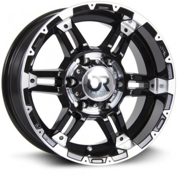 RTX Wheels Assault II, Noir Machine/Machine Black, 20X9, 6x139.7 ( offset/deport 10), 78.1