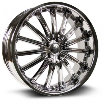 RTX Wheels Elite, Chrome Plaque/Chrome Plated, 20X8.5, 5x114.3 ( offset/deport 38), 73.1