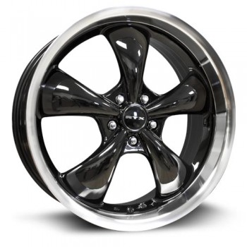 RTX Wheels GT, Noir Machine/Machine Black, 20X8.5, 5x114.3 ( offset/deport 35), 73.1