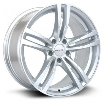 RTX Wheels Graz, Argent/Silver, 18X8, 5x120 ( offset/deport 35), 74.1 BMW