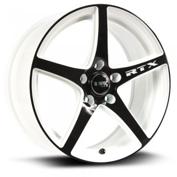 RTX Wheels Illusion, Noir et blanc/Black and white, 20X8.5, 5x114.3 ( offset/deport 40), 73.1
