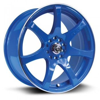 RTX Wheels Ink, Bleu/Blue, 17X7.5, 5x100/114.3 ( offset/deport 42), 73.1