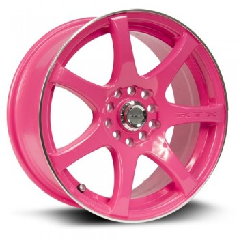 RTX Wheels Ink, Rose/Pink, 15X6.5, 4x100/114.3 ( offset/deport 40), 73.1