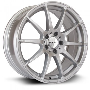 RTX Wheels Munich, Argent/Silver, 18X8, 5x112 ( offset/deport 45), 66.6 Mercedes-Benz