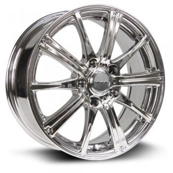RTX Wheels Spark, Chrome Plaque/Chrome Plated, 16X6.5, 5x105 ( offset/deport 40), 56.6