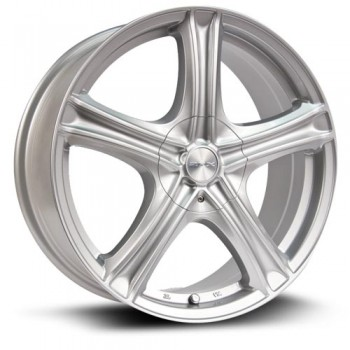 RTX Wheels Stratus, Argent/Silver, 18X7.5, 5x105/114.3 ( offset/deport 42), 73.1