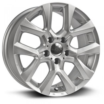 RTX Wheels Tangent, Argent/Silver, 17X8, 5x120 ( offset/deport 43), 72.6 BMW