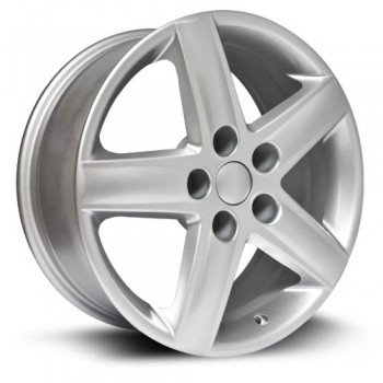 RTX Wheels Technik, Argent/Silver, 17X7.5, 5x112 ( offset/deport 42), 57.1