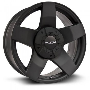 RTX Wheels Thunder, Noir mat/Matte Black, 17X8, 8x180 ( offset/deport 10), 125