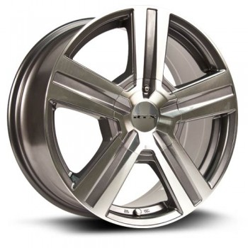 RTX Wheels Torrent, Gris Gunmetal Machine/Machine Gunmetal, 18X8, 5x114.3/127 ( offset/deport 35), 73.1