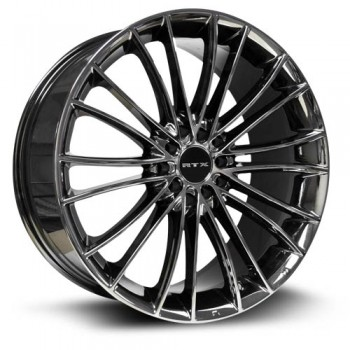 RTX Wheels Turbine, Chrome Noir/Chrome Black, 17X7.5, 5x100/114.3 ( offset/deport 45), 73.1