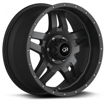 RTX Wheels Mesa, Noir Satine/Satin Black, 17X9, 5x114.3/127 ( offset/deport 15), 71.5