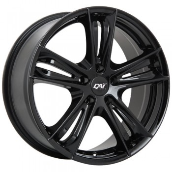Dai Alloys Razor, Noir lustré/Gloss Black, 18X8.0, 5x120 (offset/deport 35), 74.1