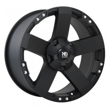 Dai Alloys Nitro, Noir mat/Matt Black, 18X9.0, 6x135 (offset/deport 30), 87.1